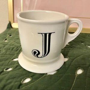 Anthropologie Letter Mug